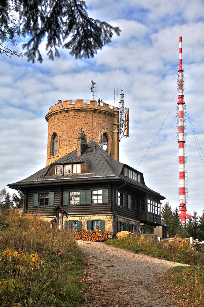 Observation tower Kleť