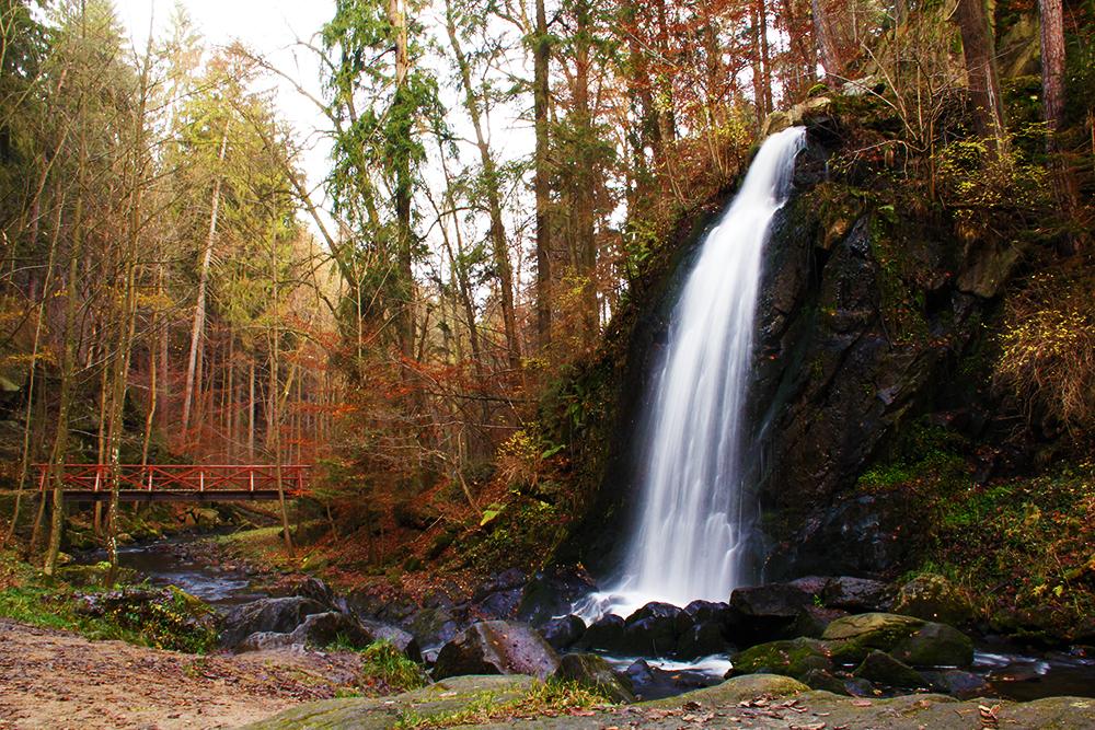 Waterfall – Terčino údolí
